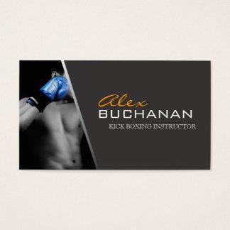Kick Boxing Business Card