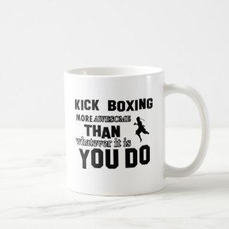 Kick Boxing design Coffee Mug