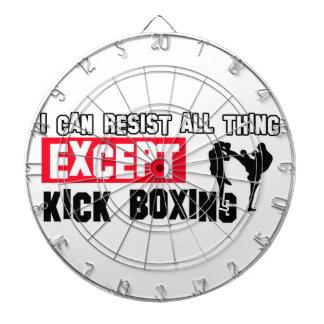 Kick Boxing design Dart Board