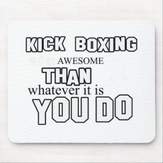 Kick Boxing design Mouse Pad