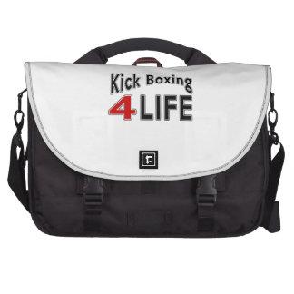 Kick Boxing For Life Laptop Bag