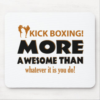 Kick Boxing Martial arts gift items Mouse Pad