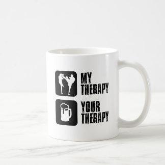 Kick-Boxing my therapy Coffee Mug