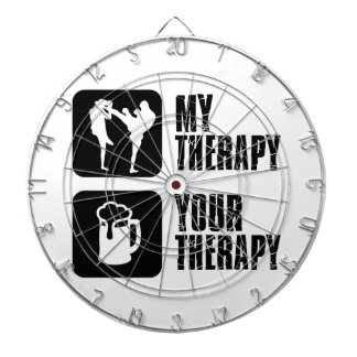 Kick-Boxing my therapy Dart Boards