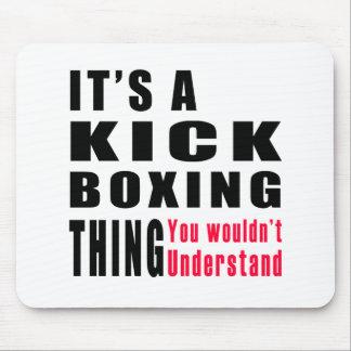 Kick Boxing Thing Designs Mouse Pad