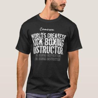 KICK BOXING World's Greatest Custom Name V6 T-Shirt