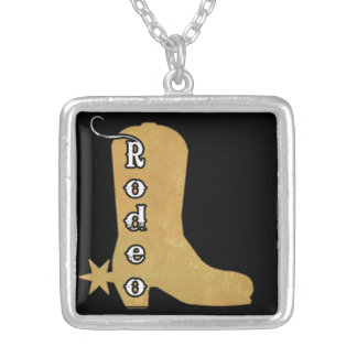 Kick Butt, Rodeo Cowgirl Boot pendant