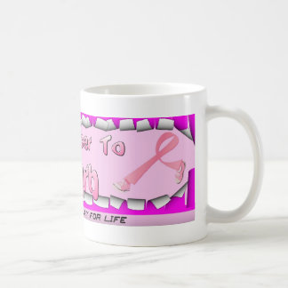 Kick Cancer to the curb Coffee Mug