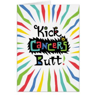 Kick Cancer's Butt Card