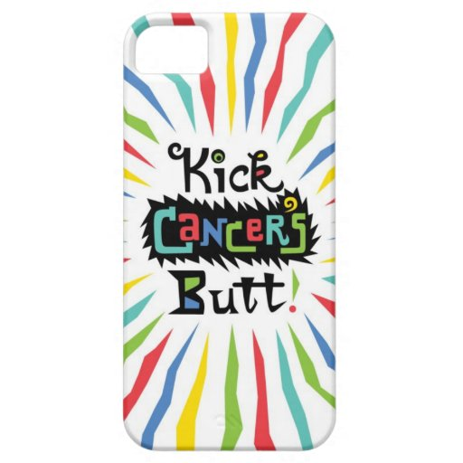 Kick Cancer's Butt iPhone 5 Covers