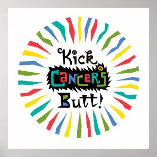 Kick Cancer's Butt Print