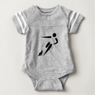Kick Cat Baby Bodysuit
