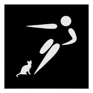Kick Cat Poster