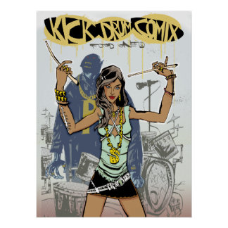 Kick Drum One Print/Poster Poster