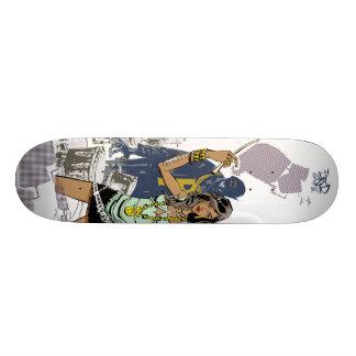 Kick Drum One Skate Deck