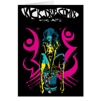 Kick Drum Two Greeting Card