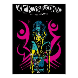 Kick Drum Two Print/Poster Poster