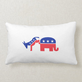 Kick 'em Dems Lumbar Pillow