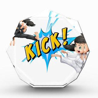Kick flash awards