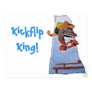 Kick Flip King! Postcard