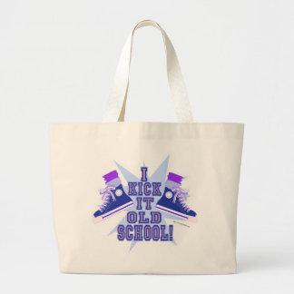 Kick it Old School Large Tote Bag