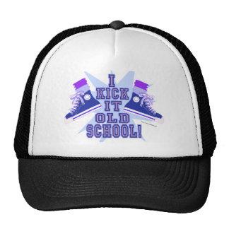 Kick it Old School Trucker Hat