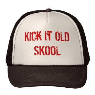 Kick it OLD SKOOL Trucker Hat