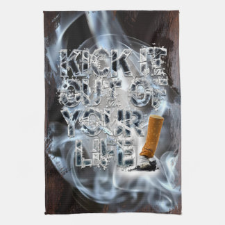 Kick It Out Of Your Life! Kitchen Towel