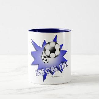 Kick It! Two-Tone Coffee Mug