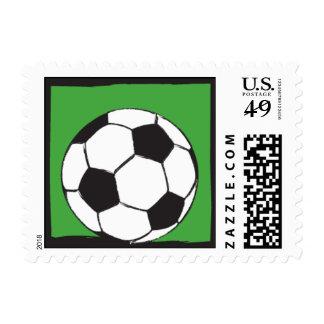 Kick It Up Postage Stamp