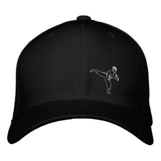 Kick Kung Fu Karate Hat Martial Arts MMA Cap Embroidered Hats