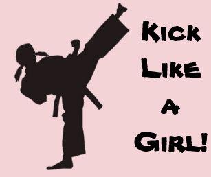 Karate Girl Gifts on Zazzle