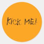 Kick Me! Stickers