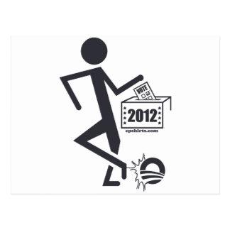 Kick Obama Out Postcard