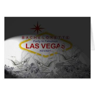 """""""Kick off your Heels!"""" Las Vegas Bachelorette Part Card"""