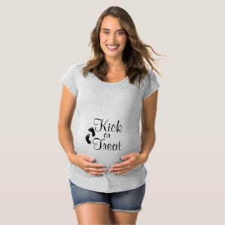 Kick or Treat Maternity Shirt