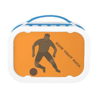 Kick That Ball Lunch Boxes