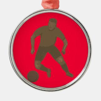 Kick That Ball Ornaments