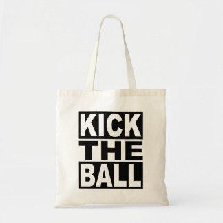 Kick the Ball Tote Bag