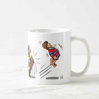 Kick The Habbit Classic White Coffee Mug