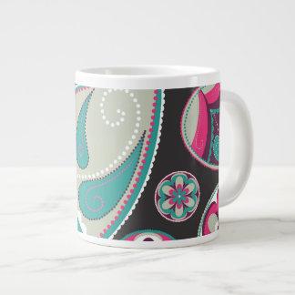 Kick Up the Paisley Large Coffee Mug