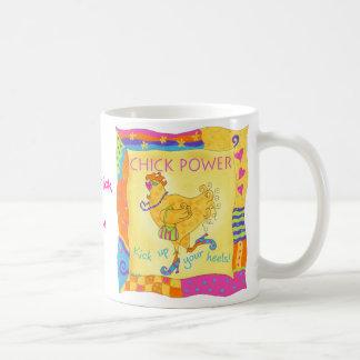 Kick Up Your Heels Chick Power Mug