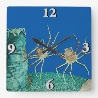 Kick Up Your Heels Square Wall Clock