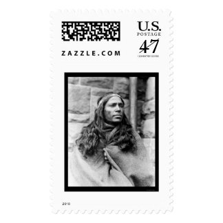Kickapoo Indian Medicine Man 1917 Postage