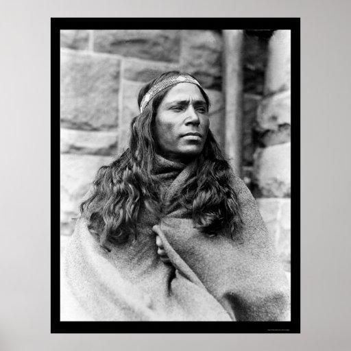 Kickapoo Indian Medicine Man 1917 Poster