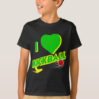 kickball, verde remera