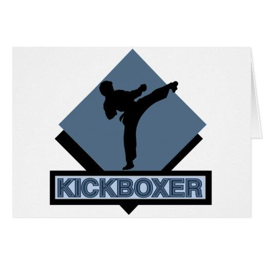 Kickboxer blue diamond card