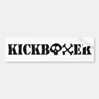 Kickboxer Pegatina Para Auto