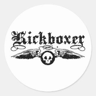 Kickboxer Sticker