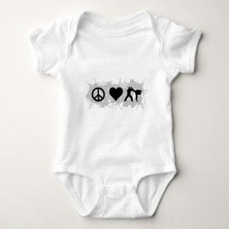 Kickboxing Baby Bodysuit